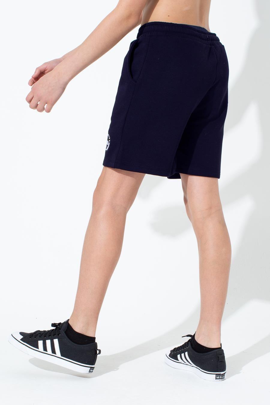 Hype Navy Crest Kids Shorts
