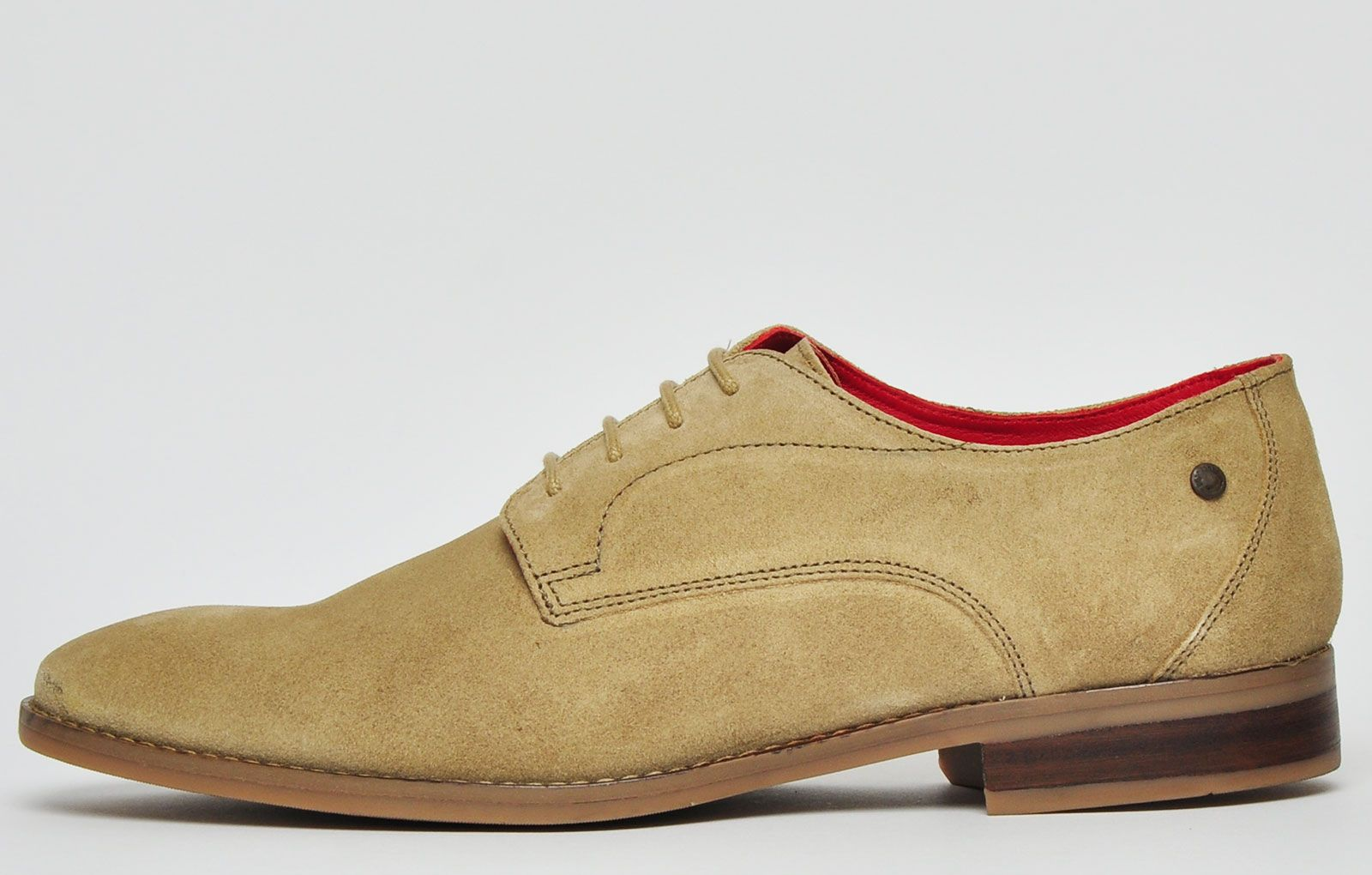 Base London Ivy Suede Leather Mens