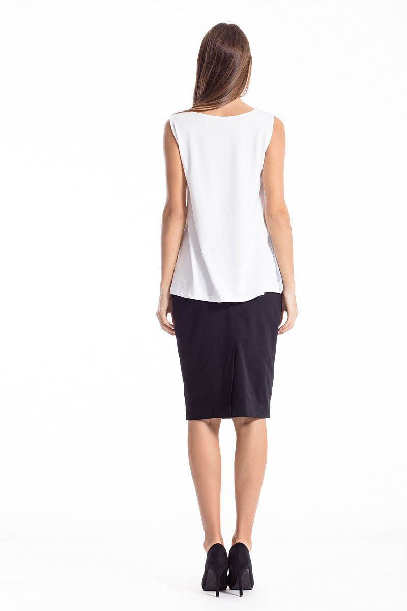 Layer Detail Sleeveless Top