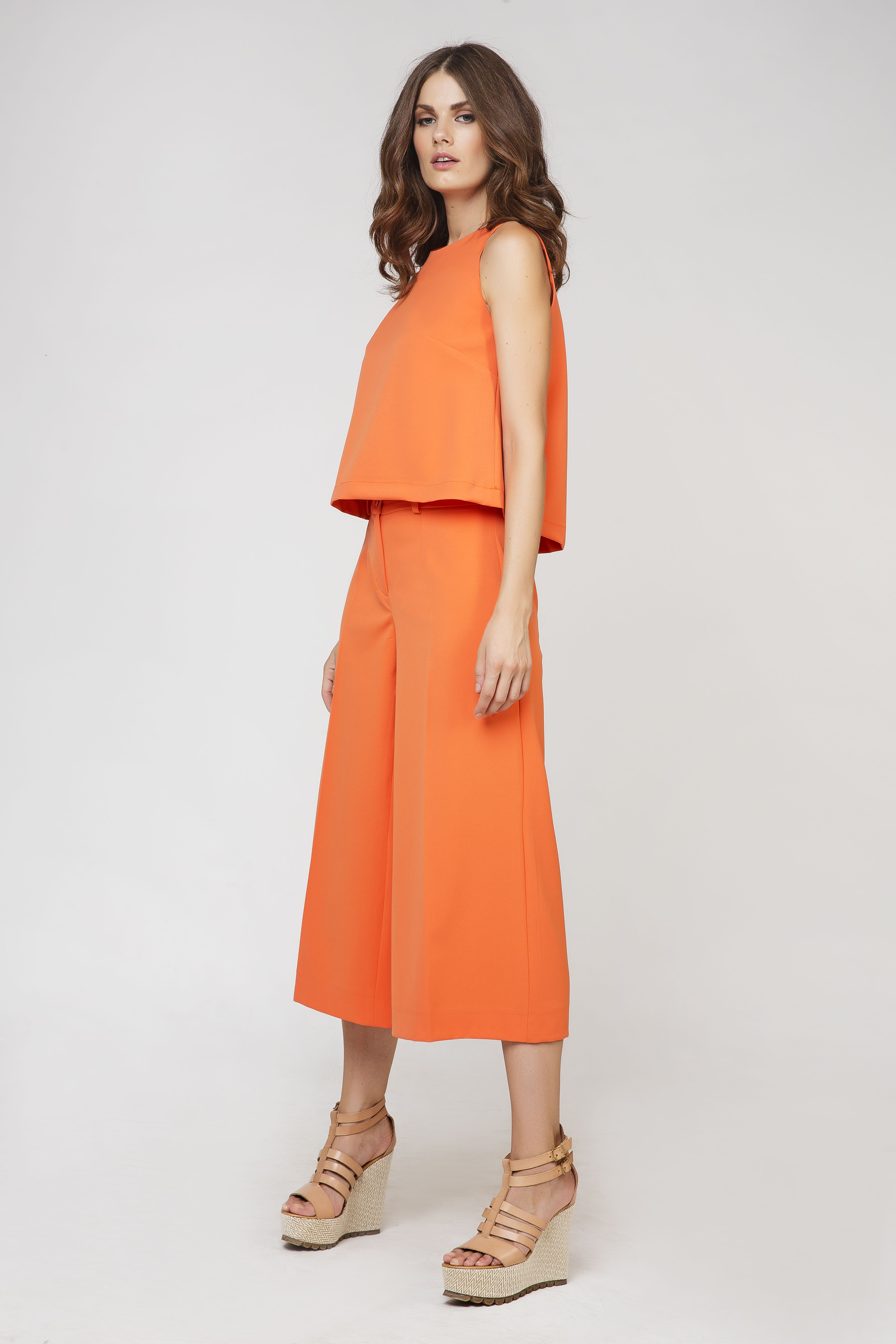 Cropped Culottes by Conquista Fashion by Conquista Fashion