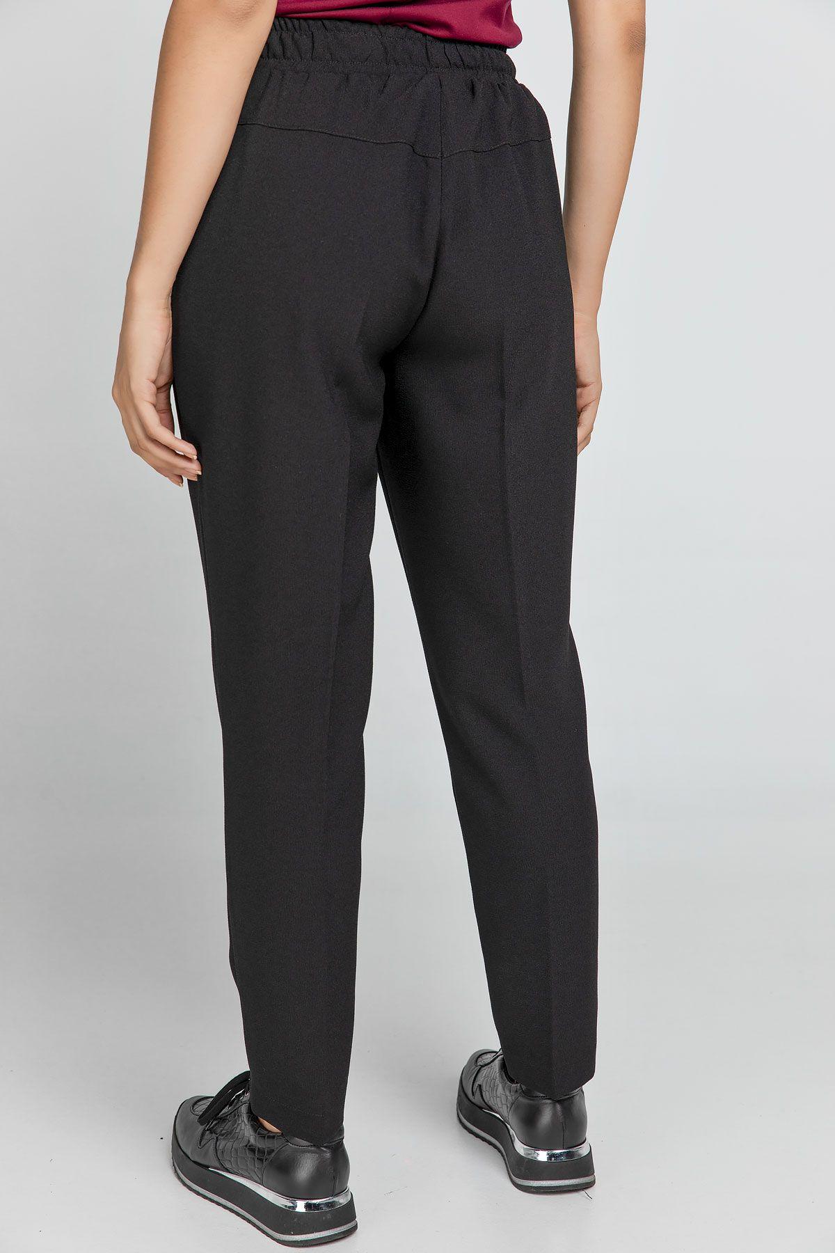 Black Crepe Pants by Conquista
