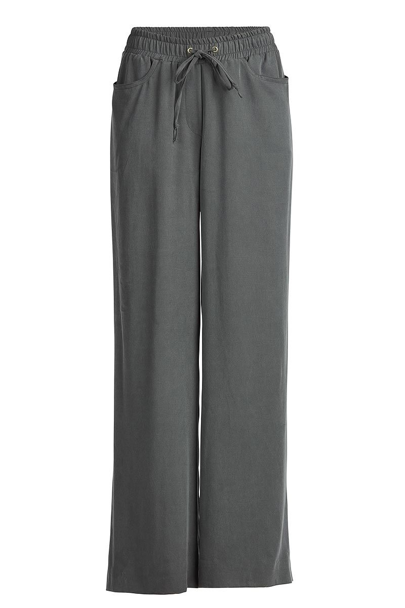 Wide Drawstring Trousers