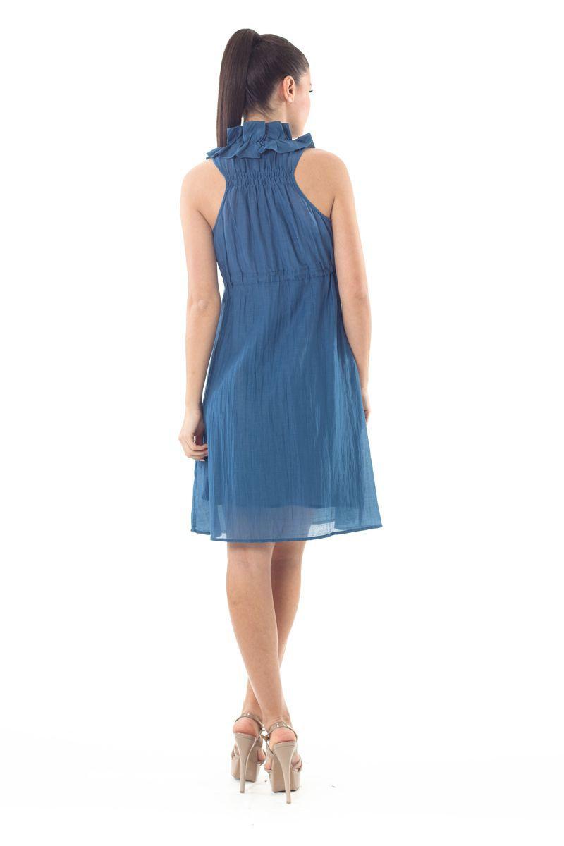 Sleeveless Ruffle Detail dress