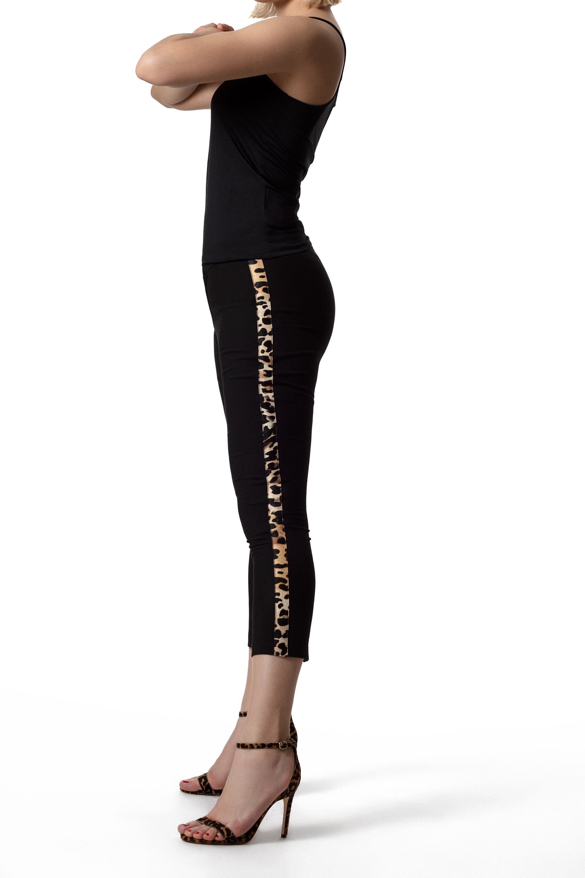 High Rise Tailored Trouser