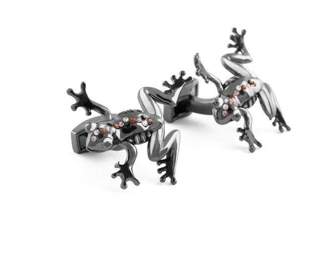 Mechanical Frog cufflinks