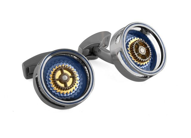 Gear Bullseye cufflinks