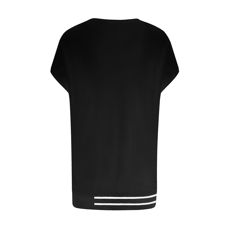 Mixed Blend Capped T-Shirt