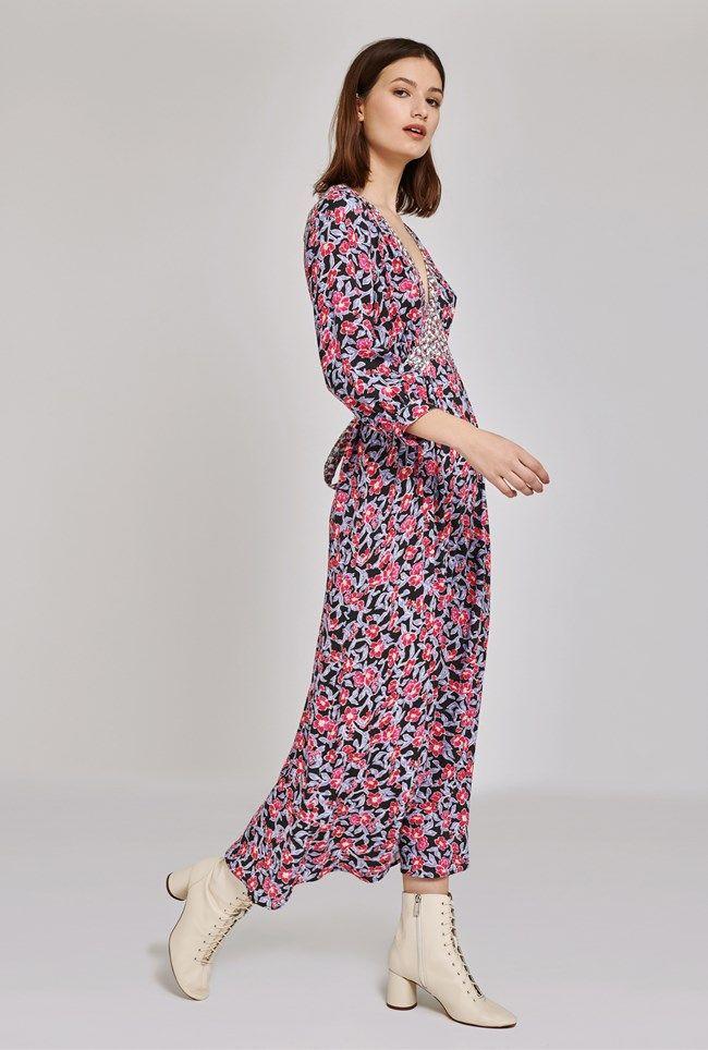 Maeve Floral Print Dress