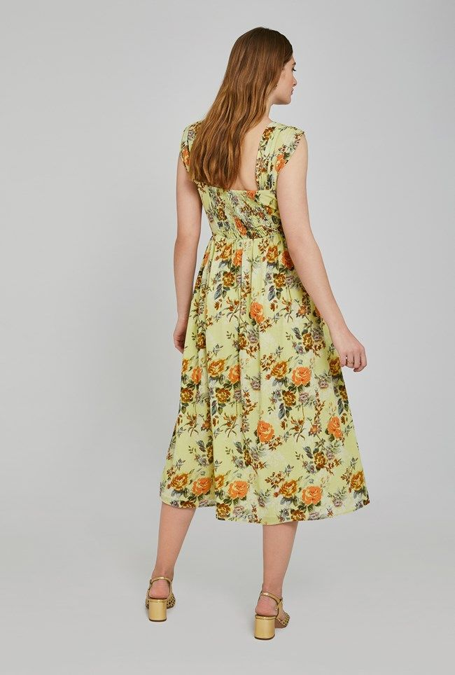 Lisa Floral Print Dress