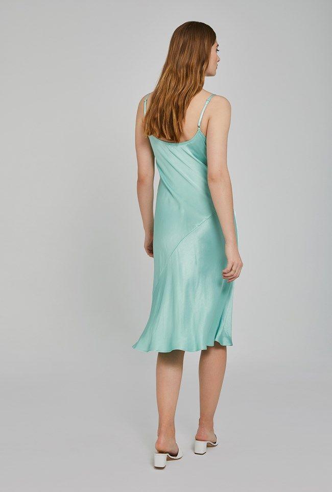 Sherry Aqua Dress
