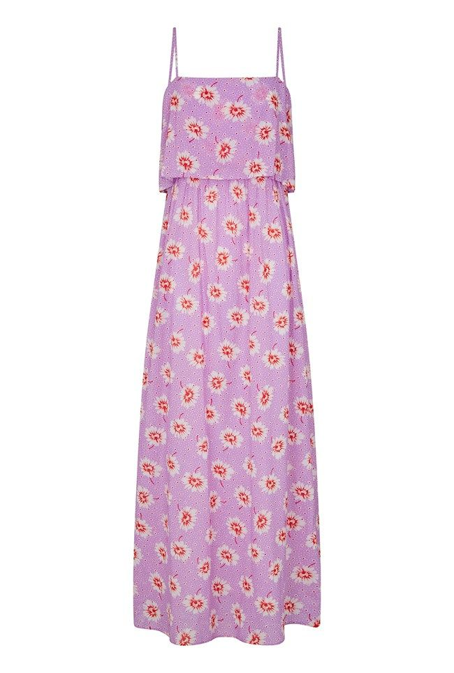 Marie Daisy Print Dress