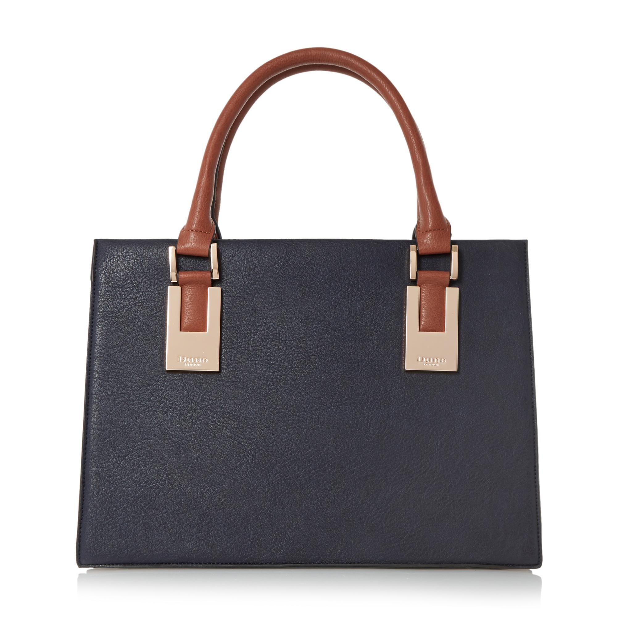 Dune DEEDEE Structured Top Handle Handbag