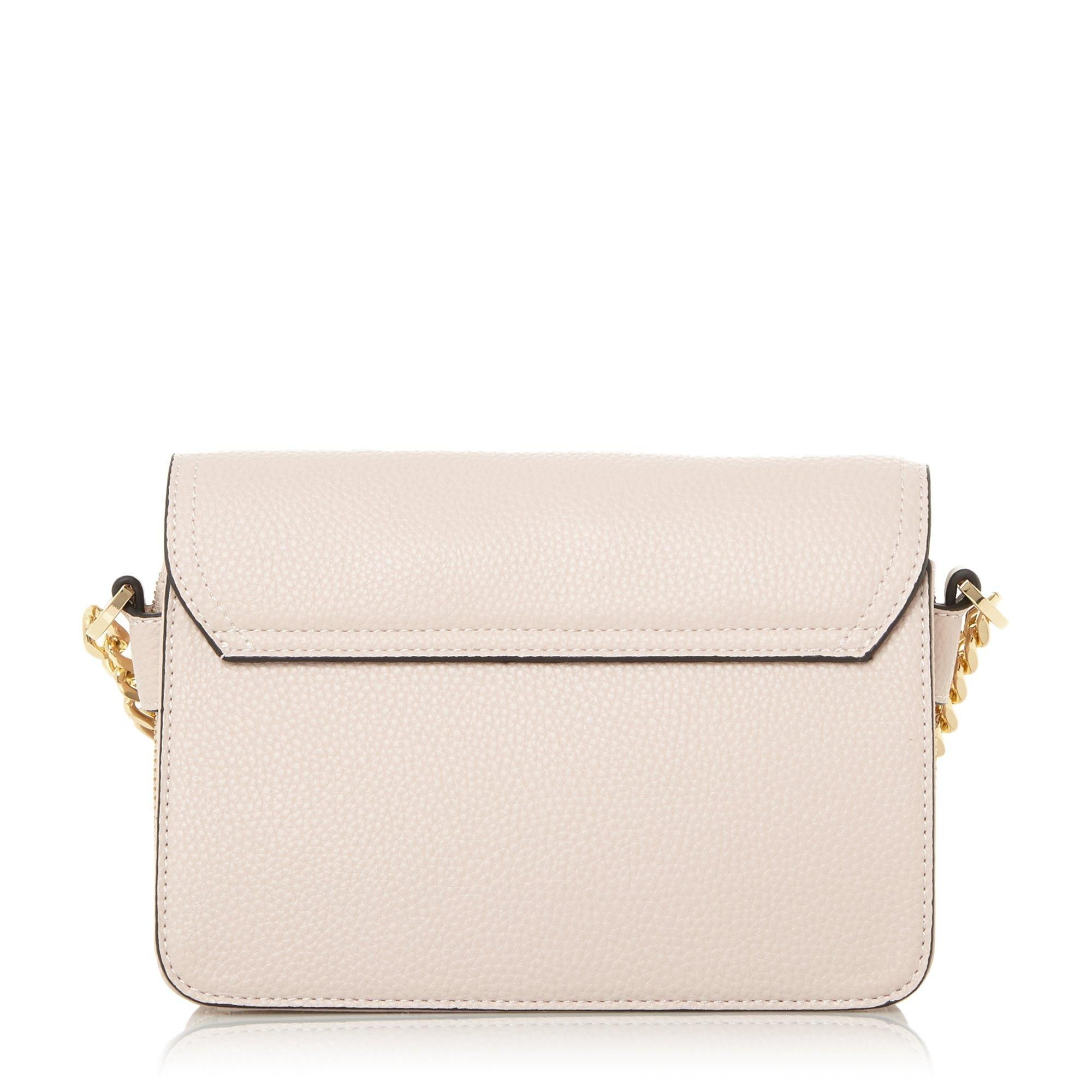 Dune DEXY Circle Lock Cross-Body Bag