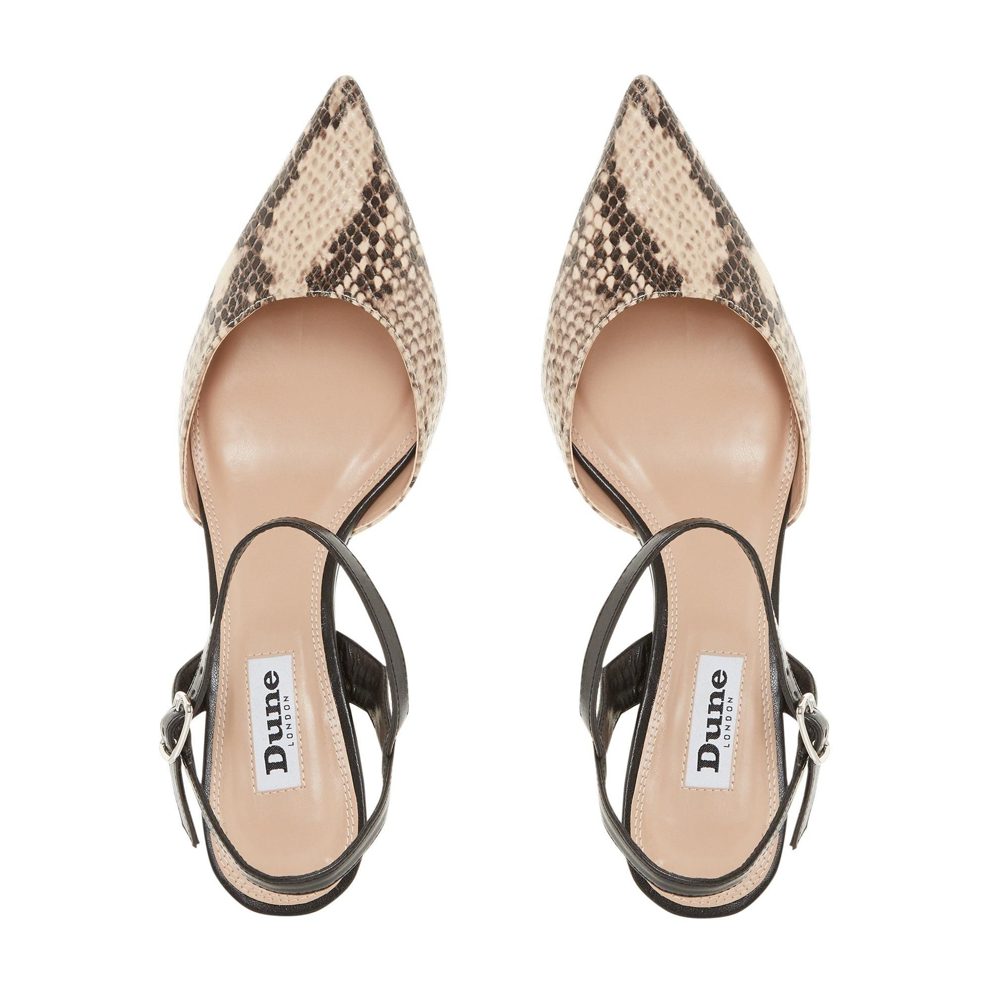 Dune Ladies DORIAA Flared Heel Court Shoe