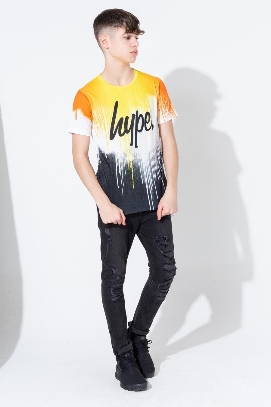 Hype Sunrise Drips Kids T-Shirt