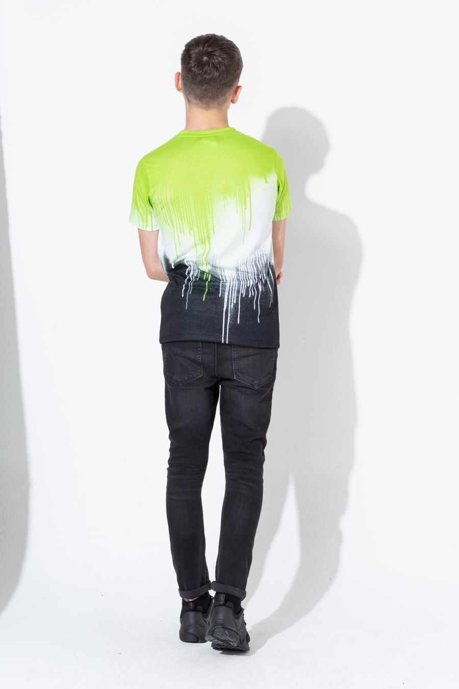 Hype Lime Drips Kids T-Shirt
