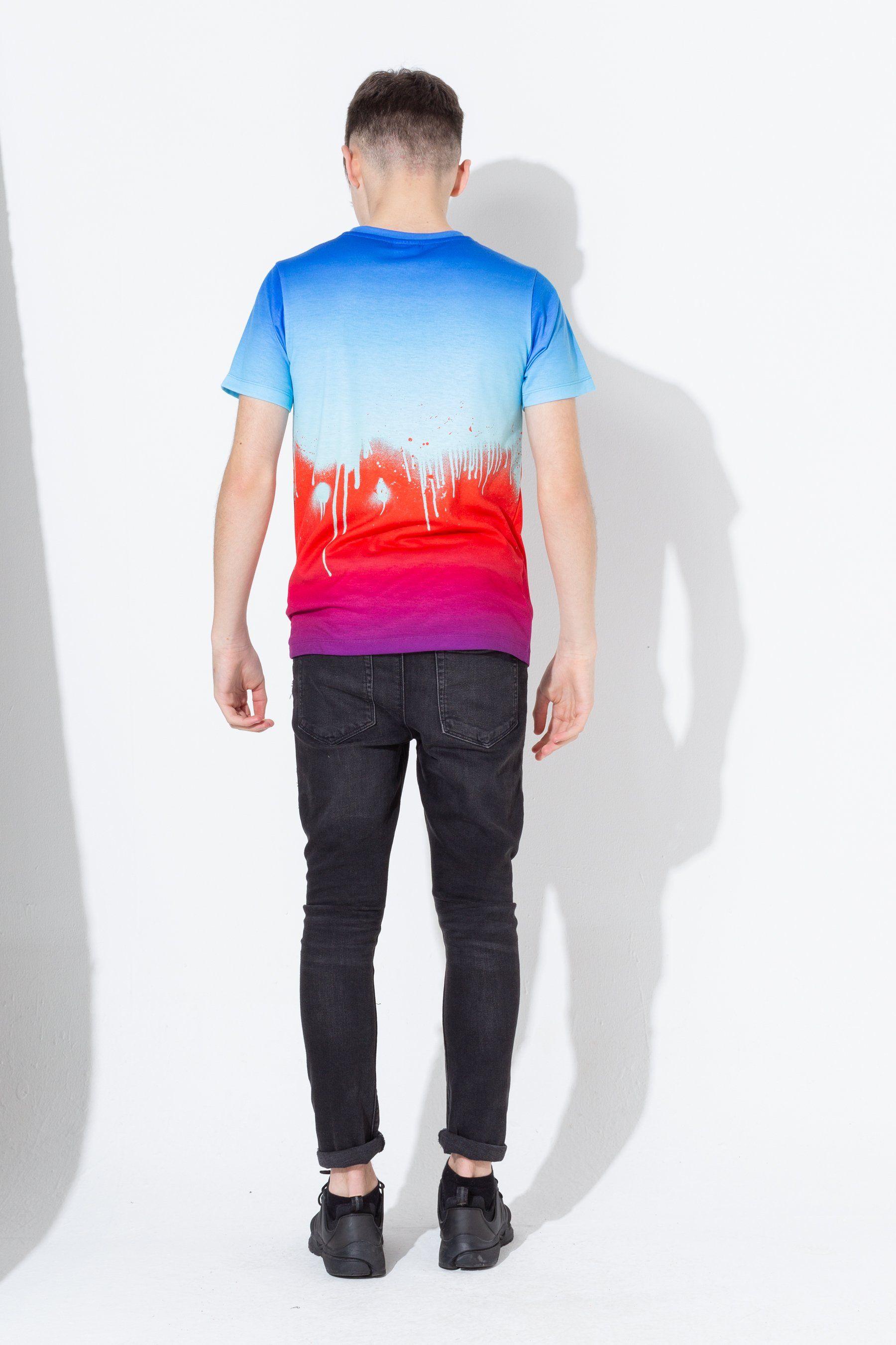 Hype Contrast Drips Kids T-Shirt
