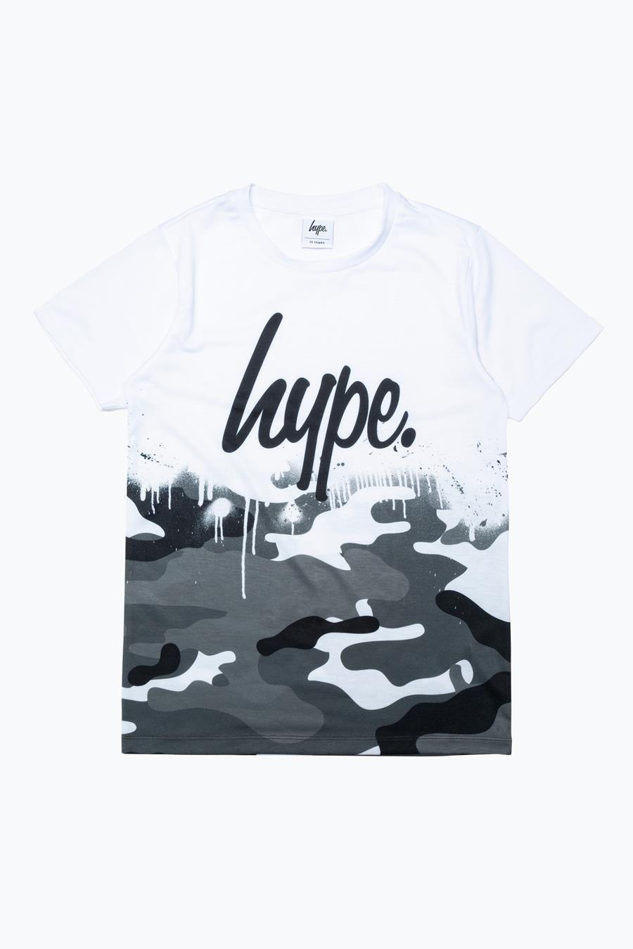 Hype Mono Camo Drips Kids T-Shirt