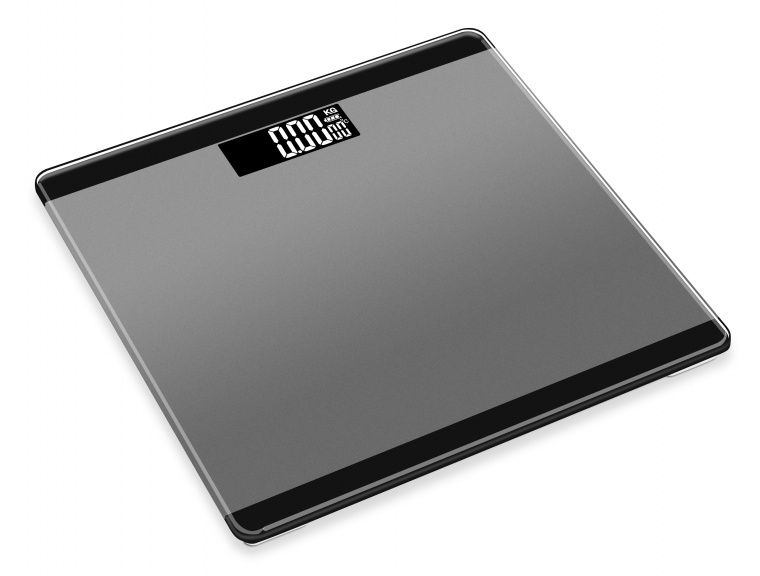 3 in 1 Digital Bathroom Scale - Space Grey