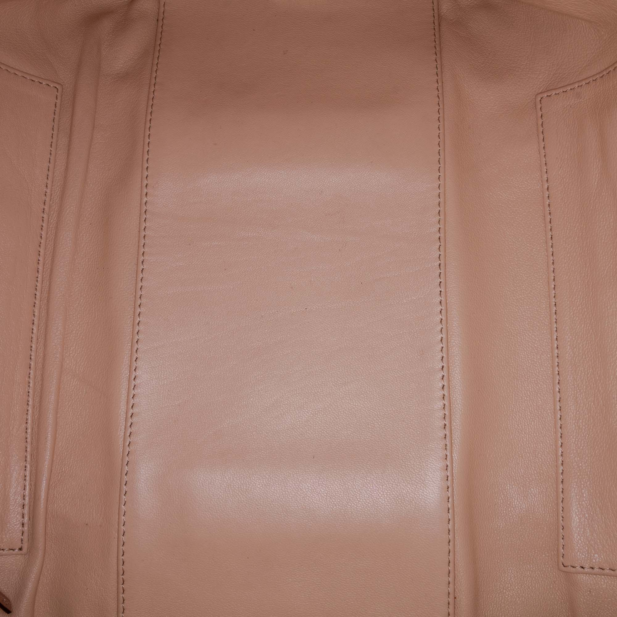 Vintage Chloe Leather Madeleine Brown