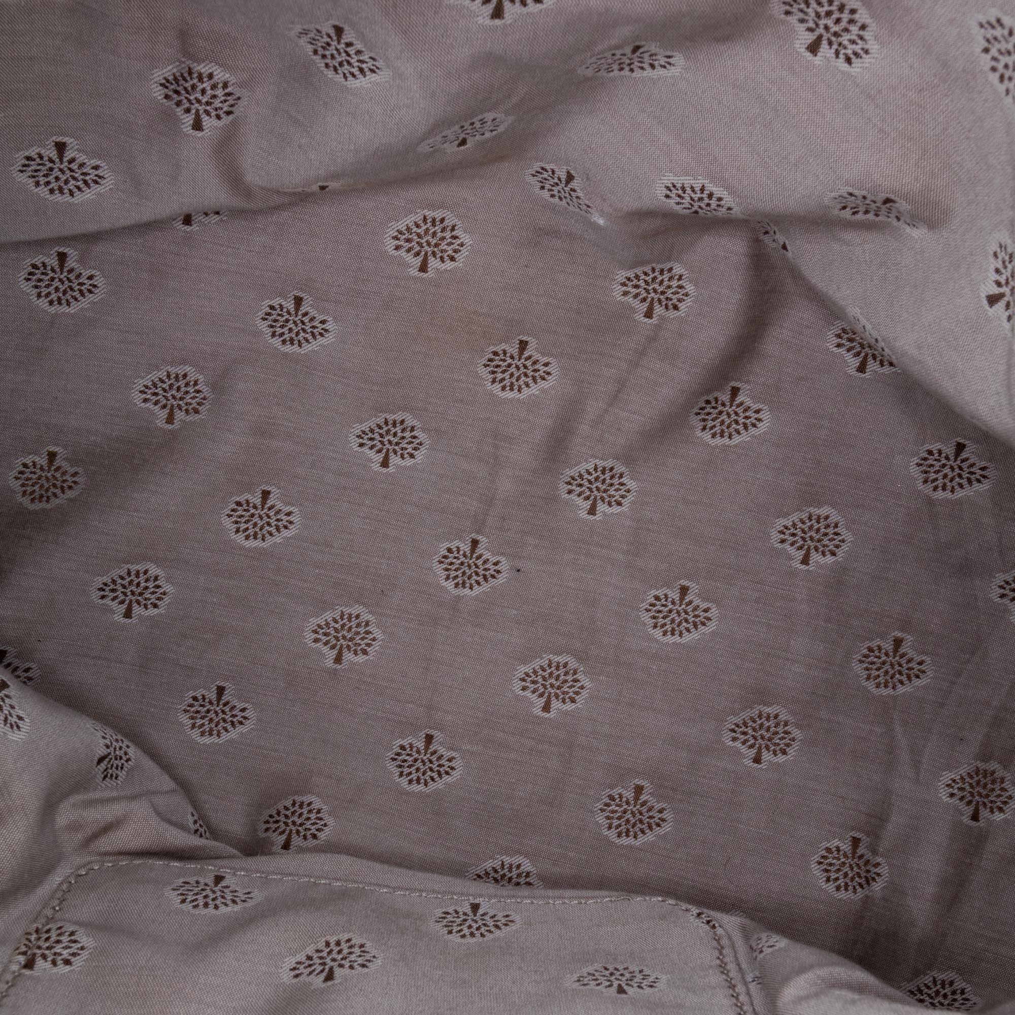 Vintage Mulberry Leather Alexa Satchel White