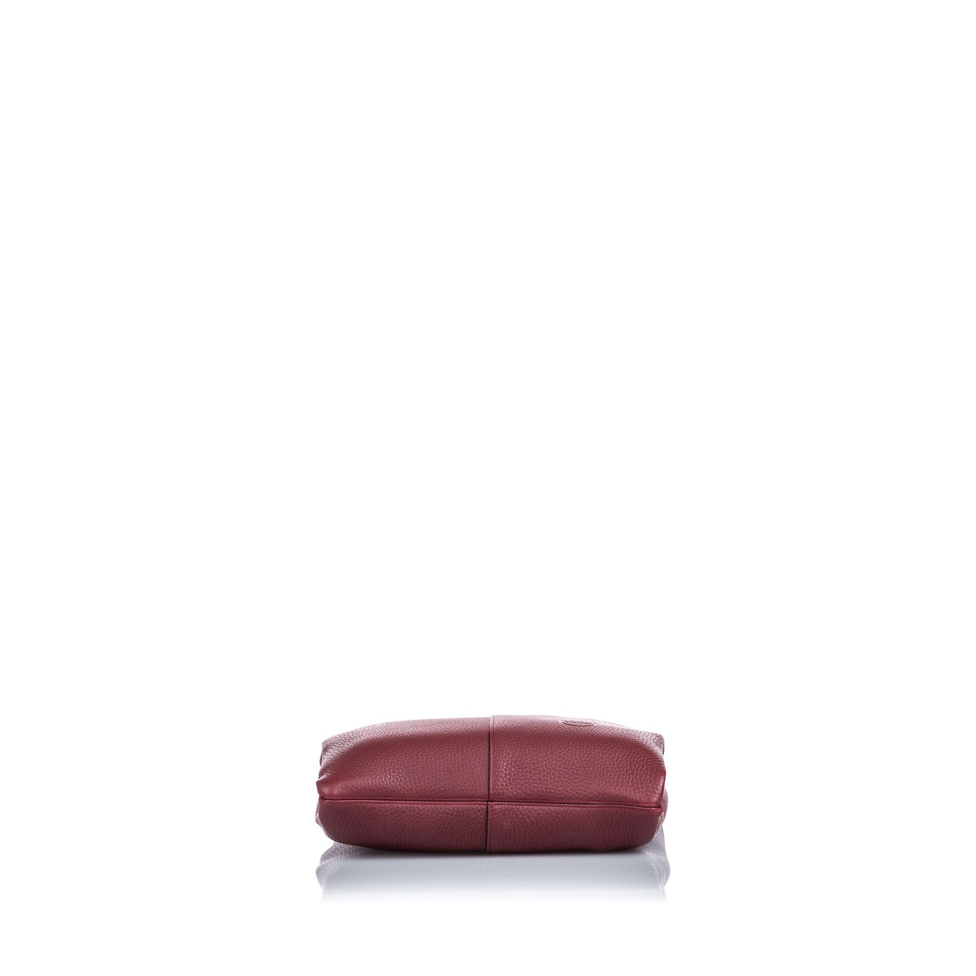 Vintage Mulberry Leather Portobello Tote Red