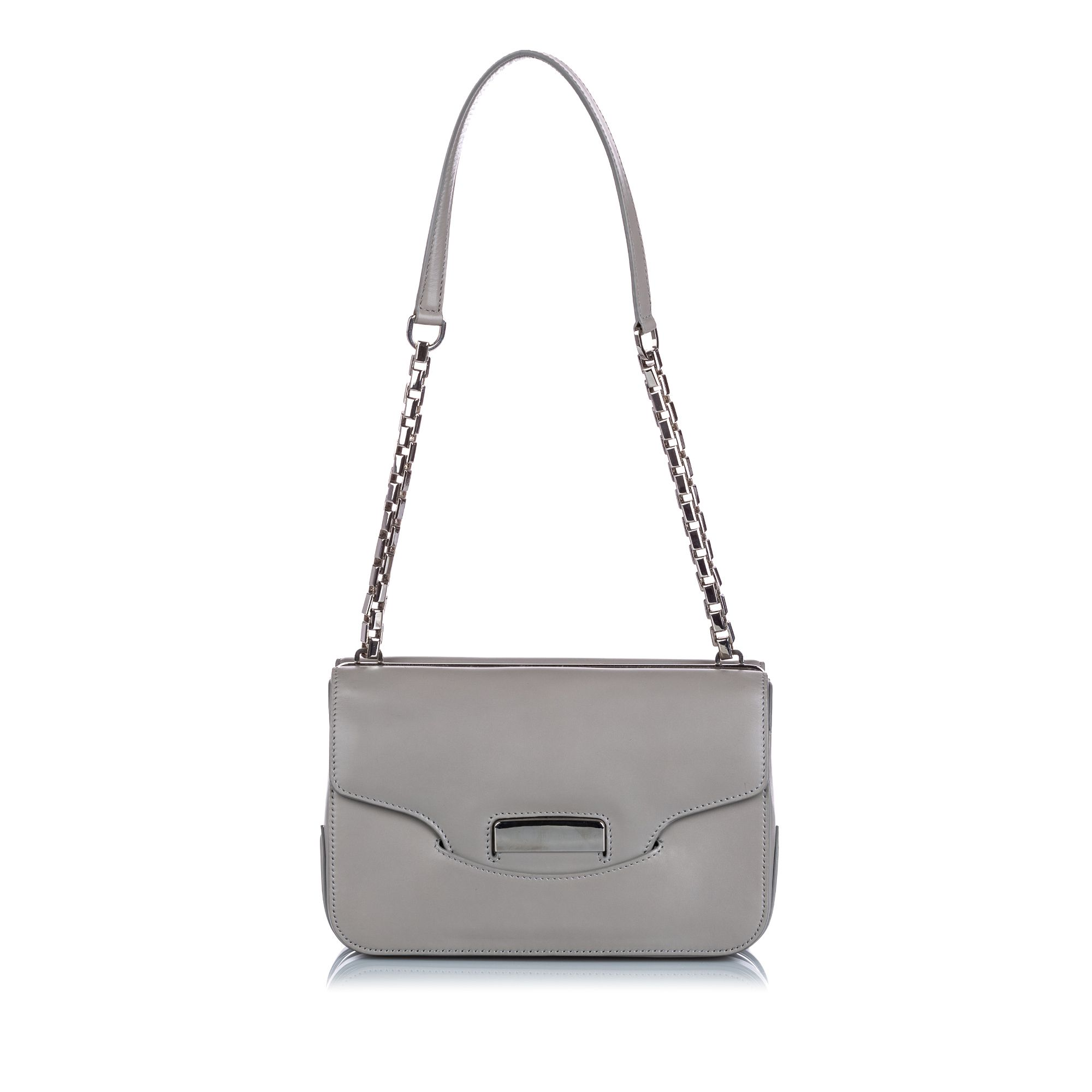 Vintage Balenciaga Leather Neo Classic Chain Bag Brown