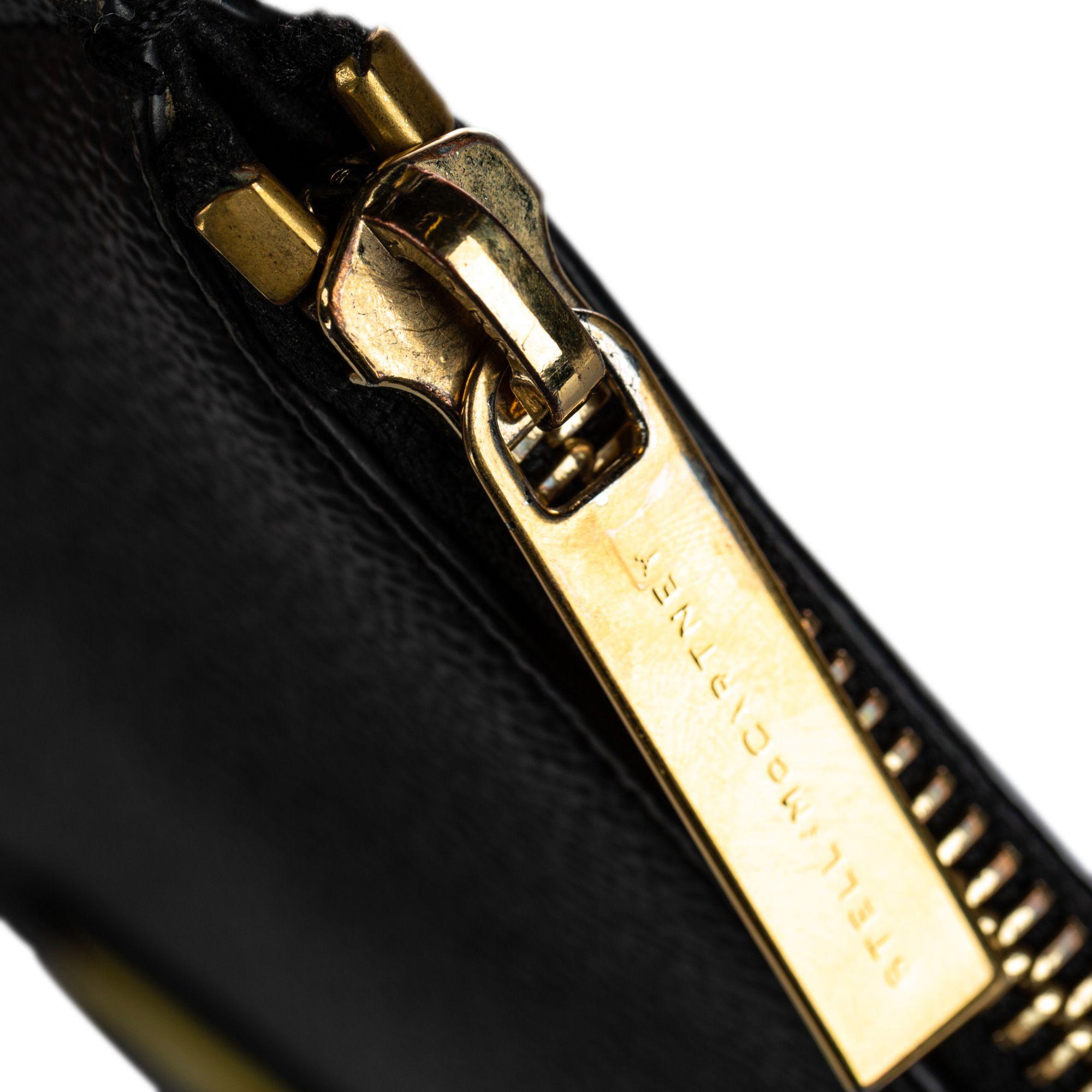Vintage Stella McCartney Superstellaheros Clutch Black