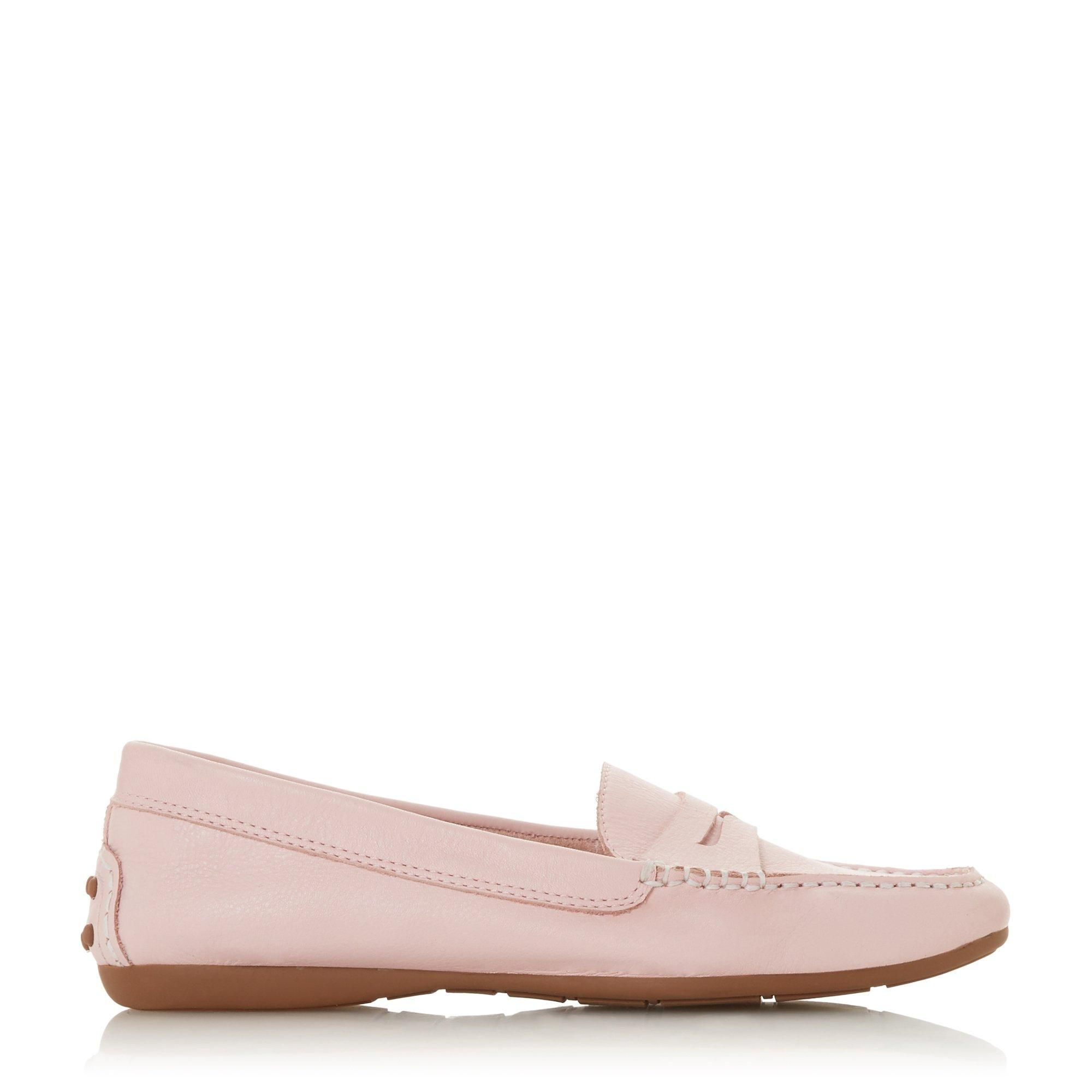 Dune Ladies GROVER Saddle Detail Loafer