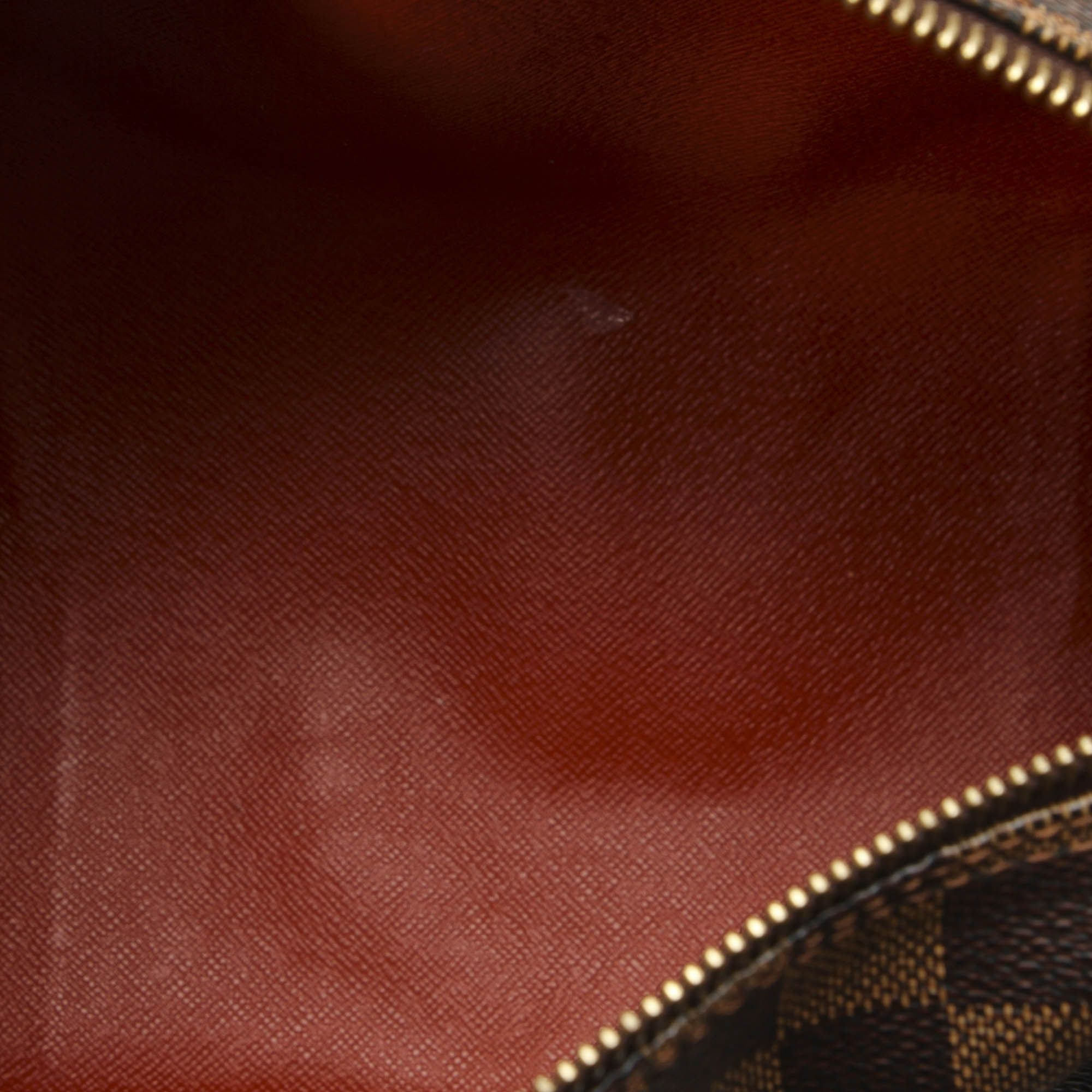 Vintage Louis Vuitton Damier Ebene Papillon 30 Brown