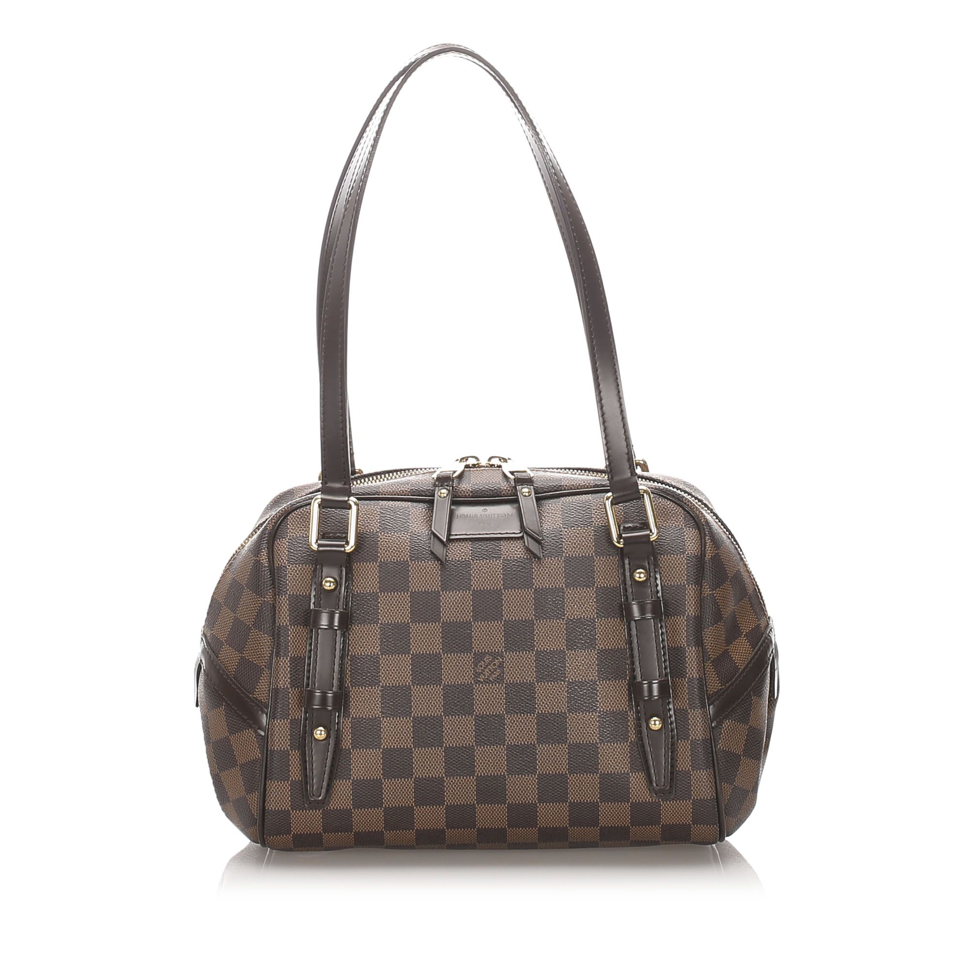 Vintage Louis Vuitton Damier Ebene Rivington PM Brown