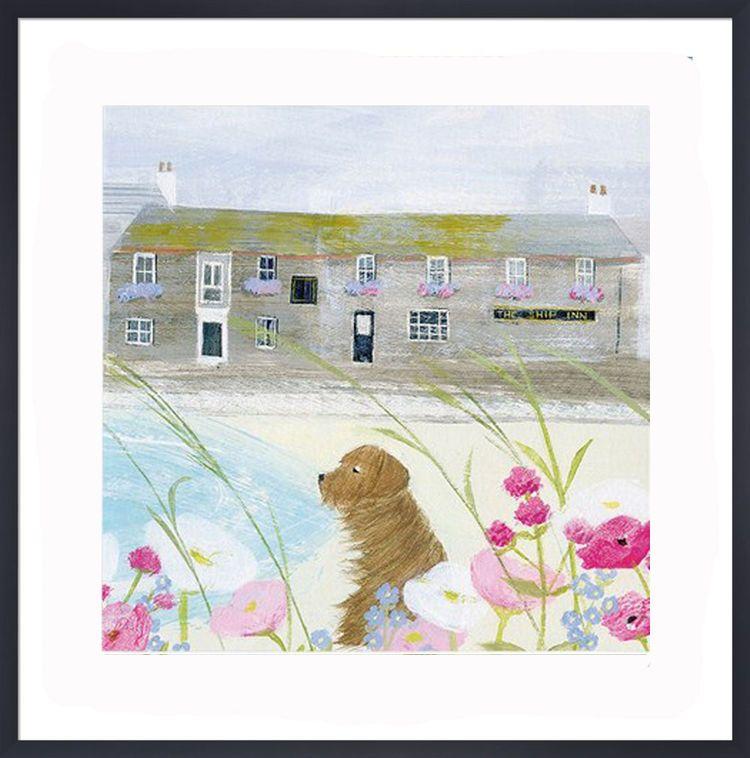 The Ship Inn Art Print by Hannah Cole