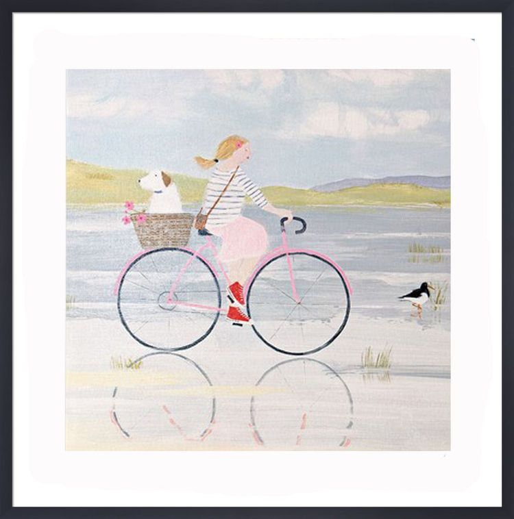 Oyster Catchers Art Print by Hannah Cole