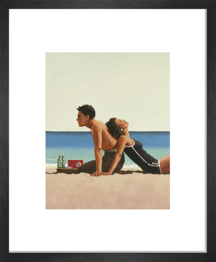 Beach Lovers by Jack Vettriano