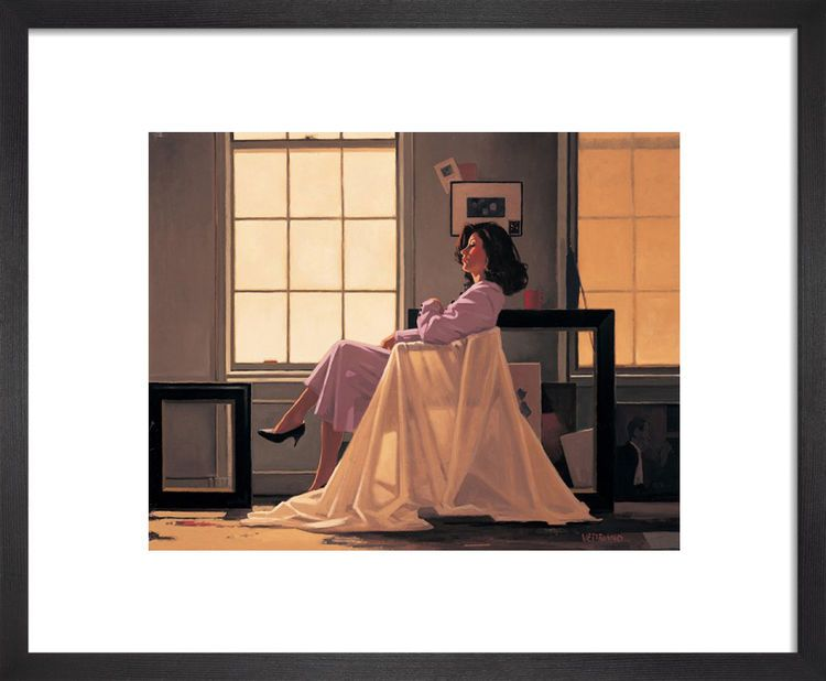 Winter Light and Lavender by Jack Vettriano