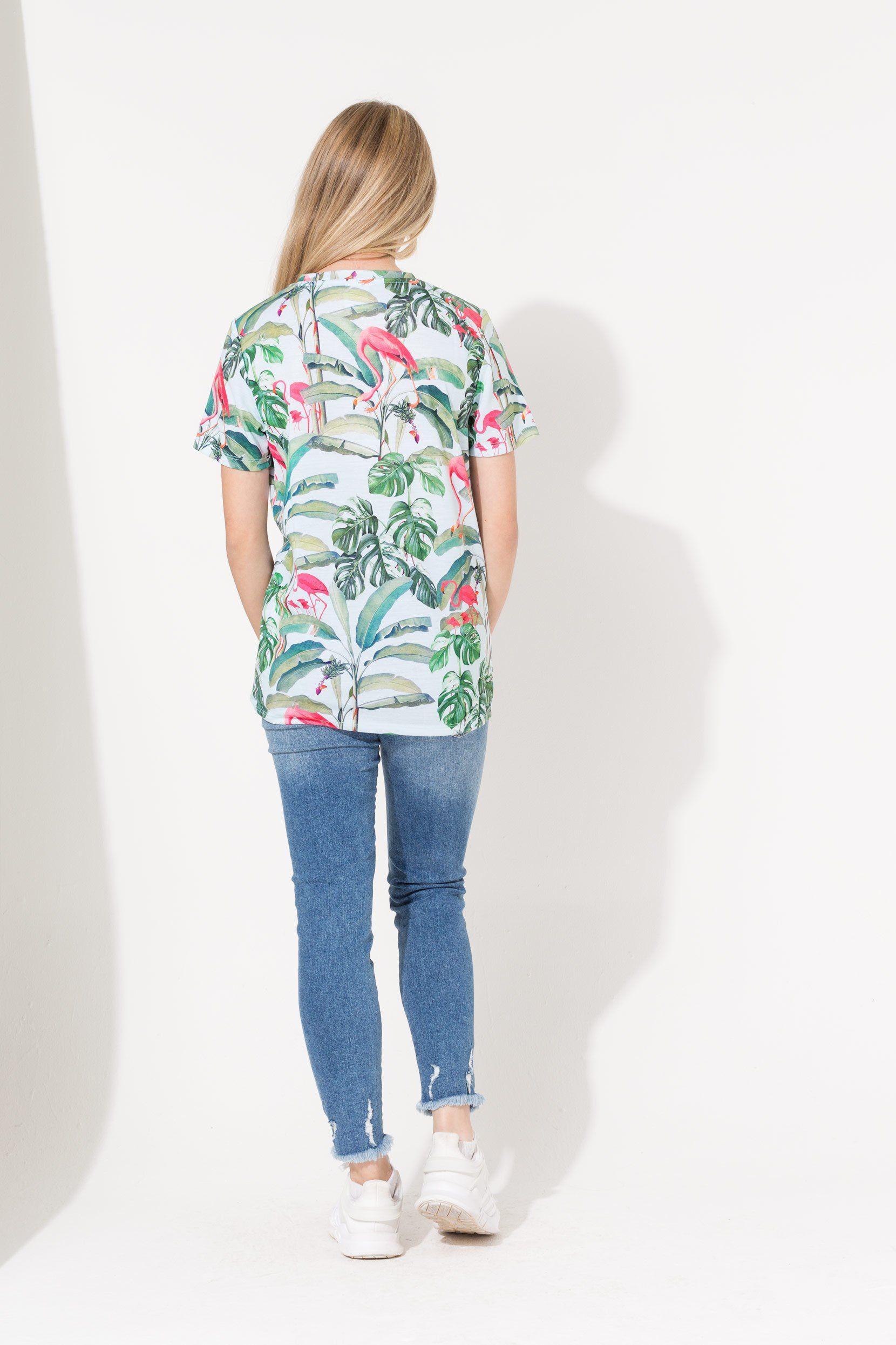 Hype Flamingo Paradise Script Kids T-Shirt