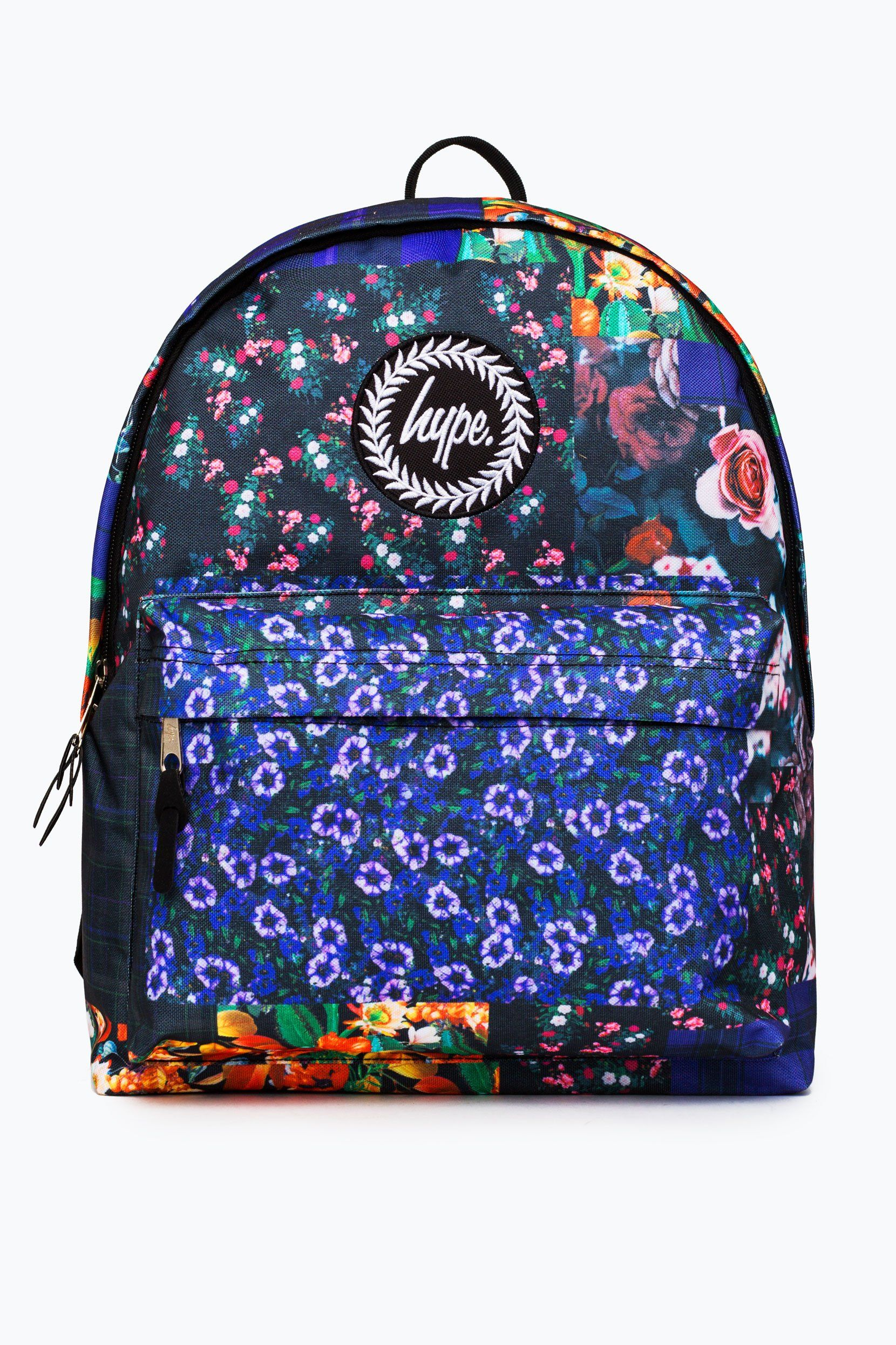 Hype Floral Patches Backpack