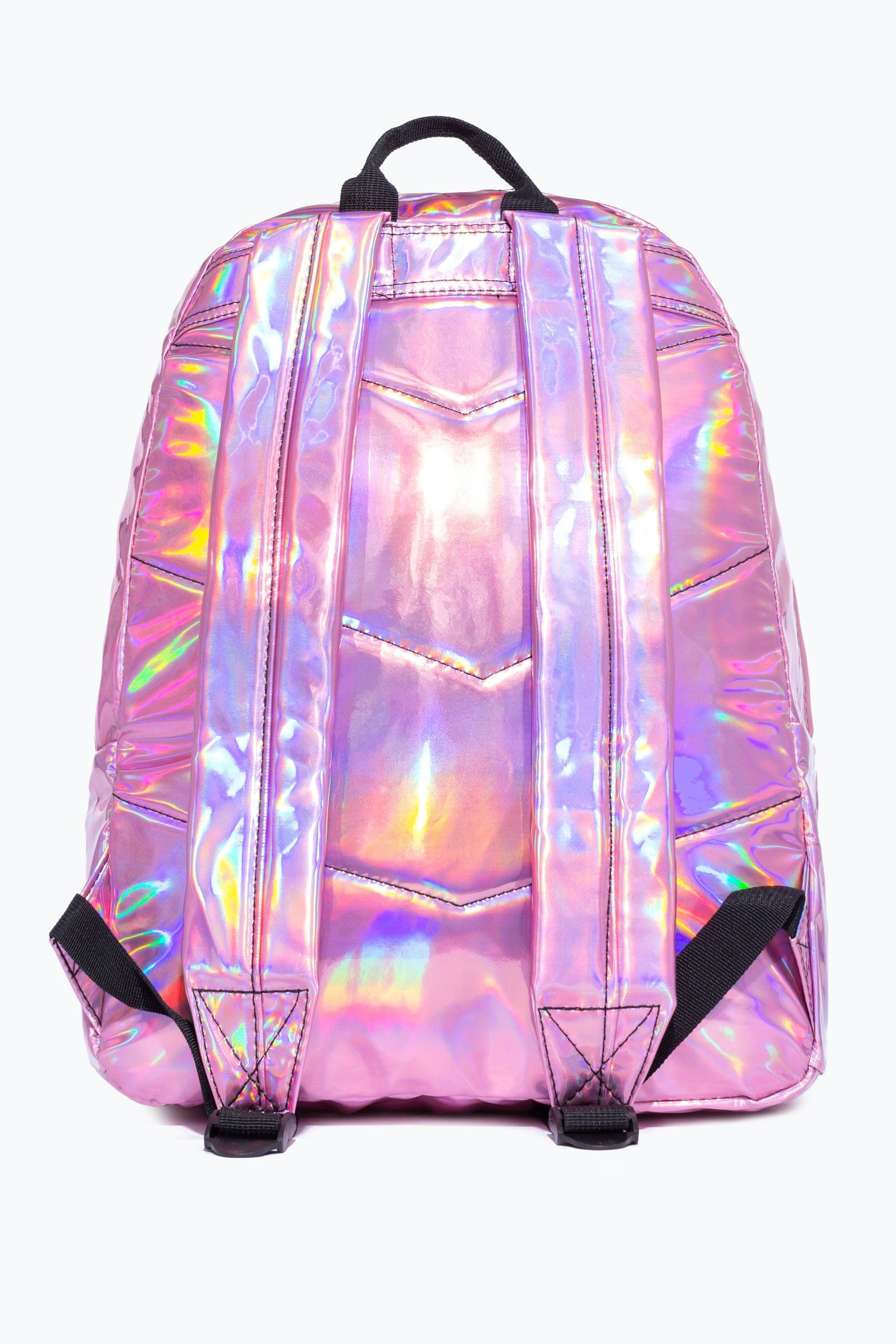 Hype Pink Holographic Mix Backpack