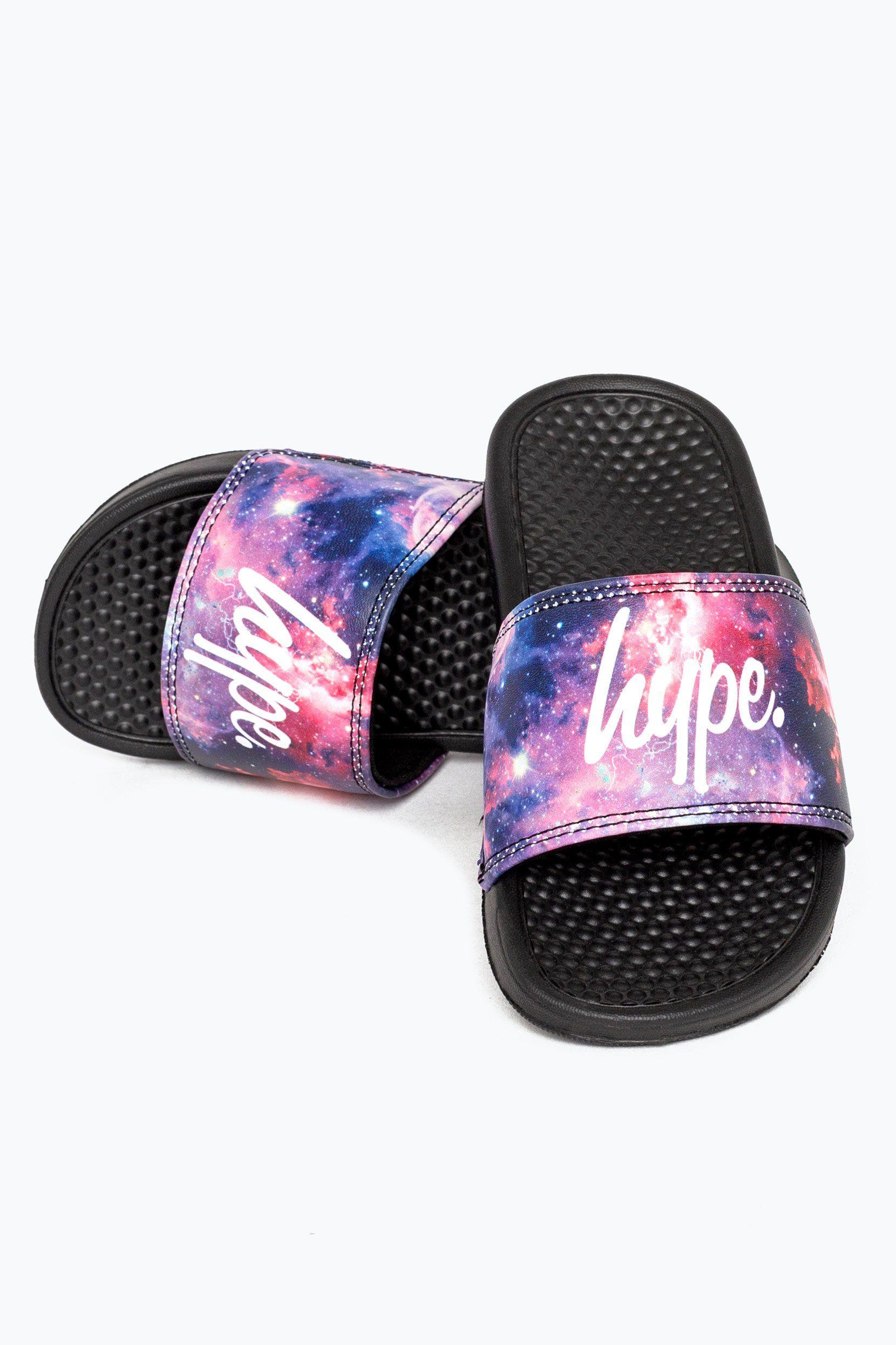 Hype Black Fired Up Kids Sliders