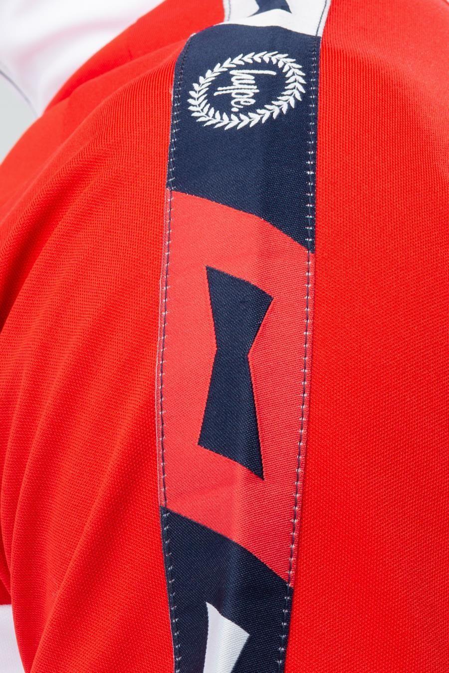 Hype Budweiser Colourblock Mens Quarter Zip Jacket