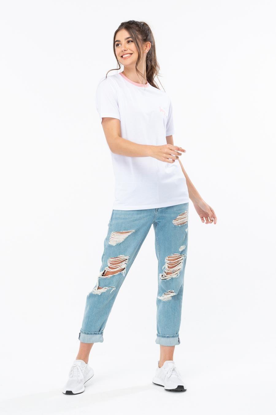Hype Toy Story White Lotso Ringer Womens T-Shirt