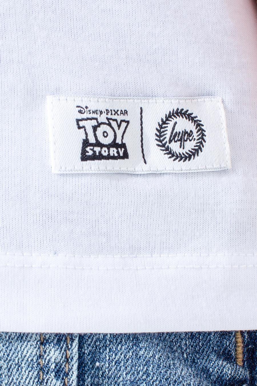 Hype Toy Story White Slinky Capital Kids T-Shirt