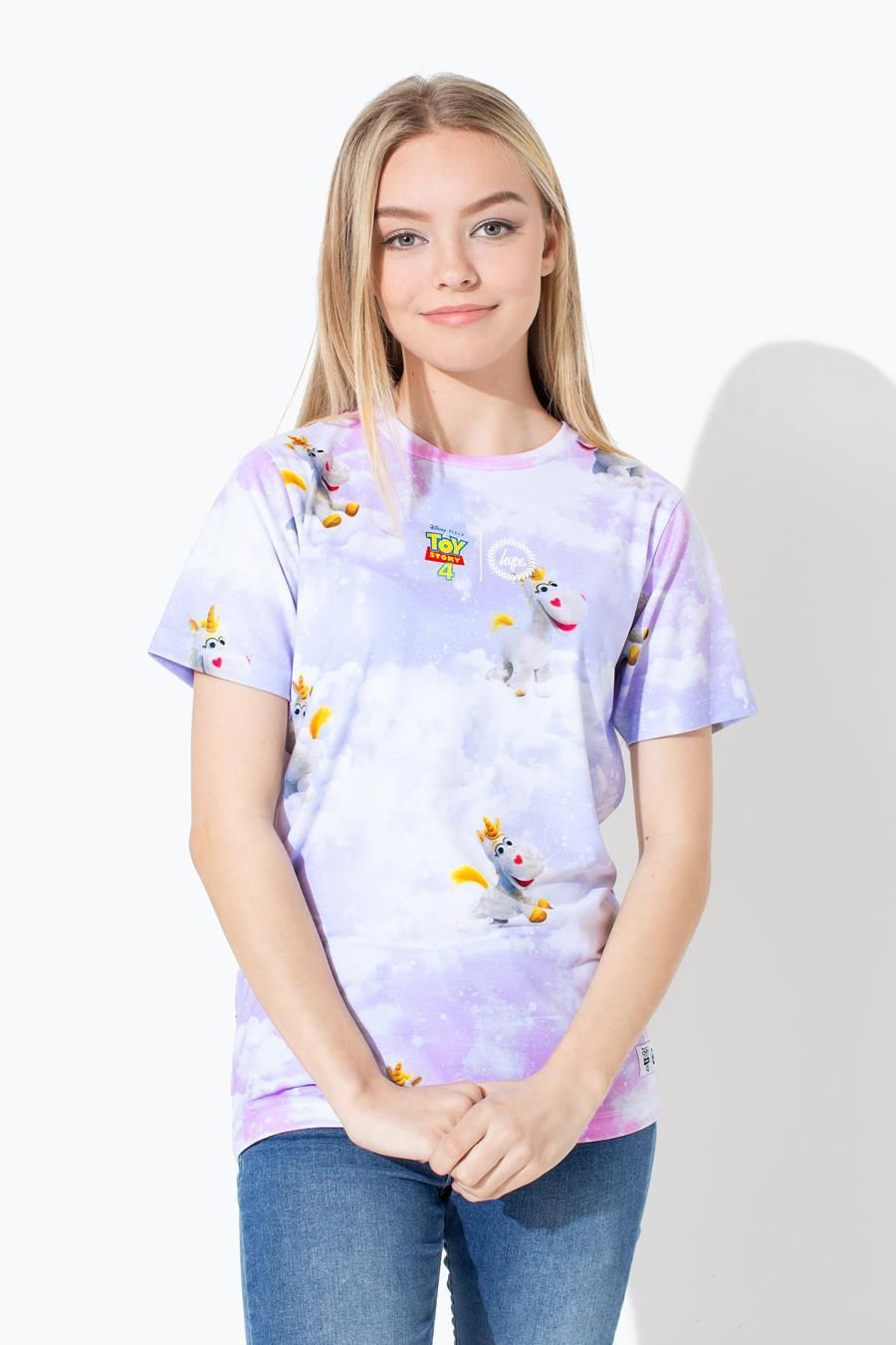 Hype Toy Story Pink Buttercup Skies Kids T-Shirt