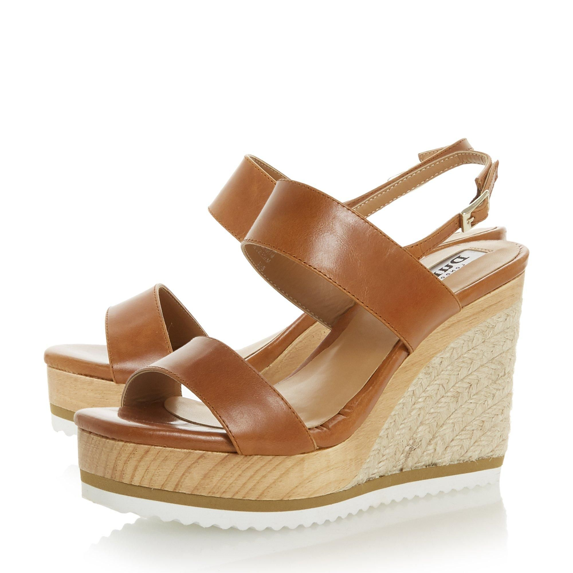 Dune Ladies KARII DB Espadrille Wedge Sandals