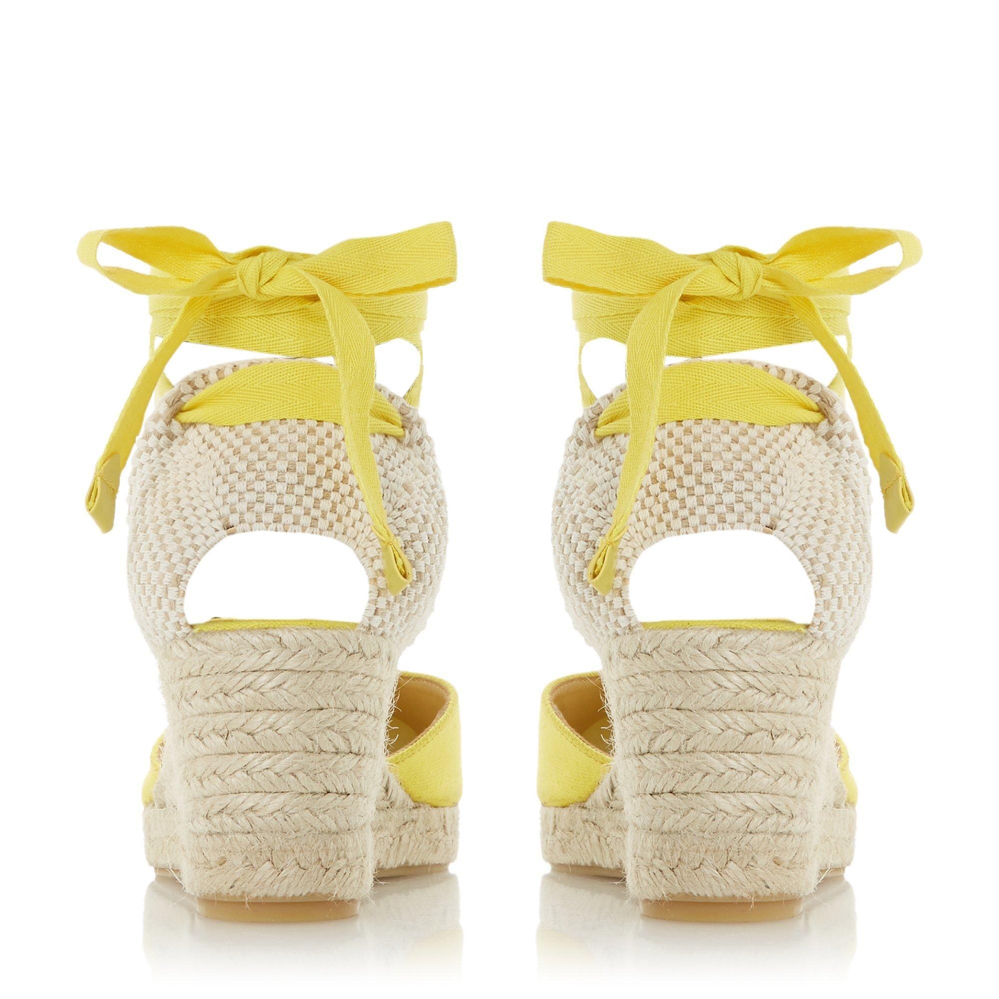 Dune Ladies KASEY Espadrille Wedge Heel Sandals