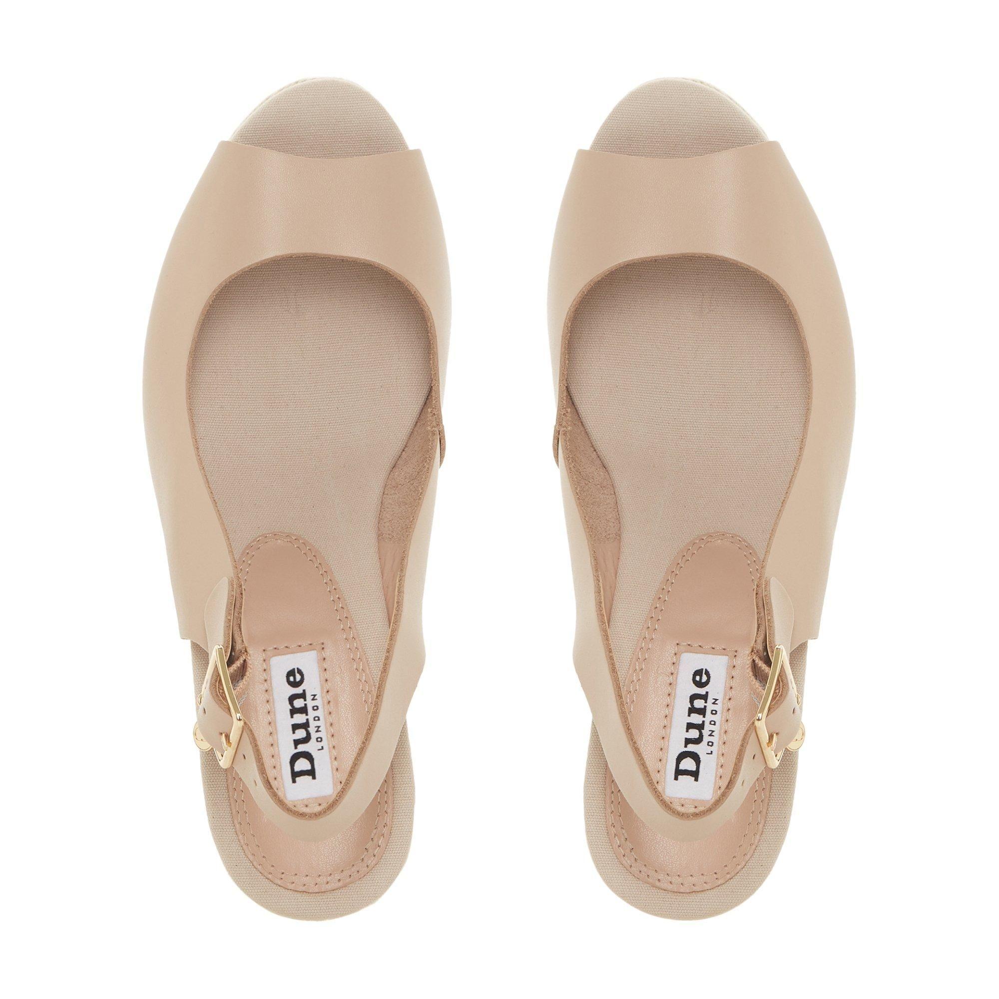 Dune Ladies KICKS Espadrille Wedge Heel Sandal
