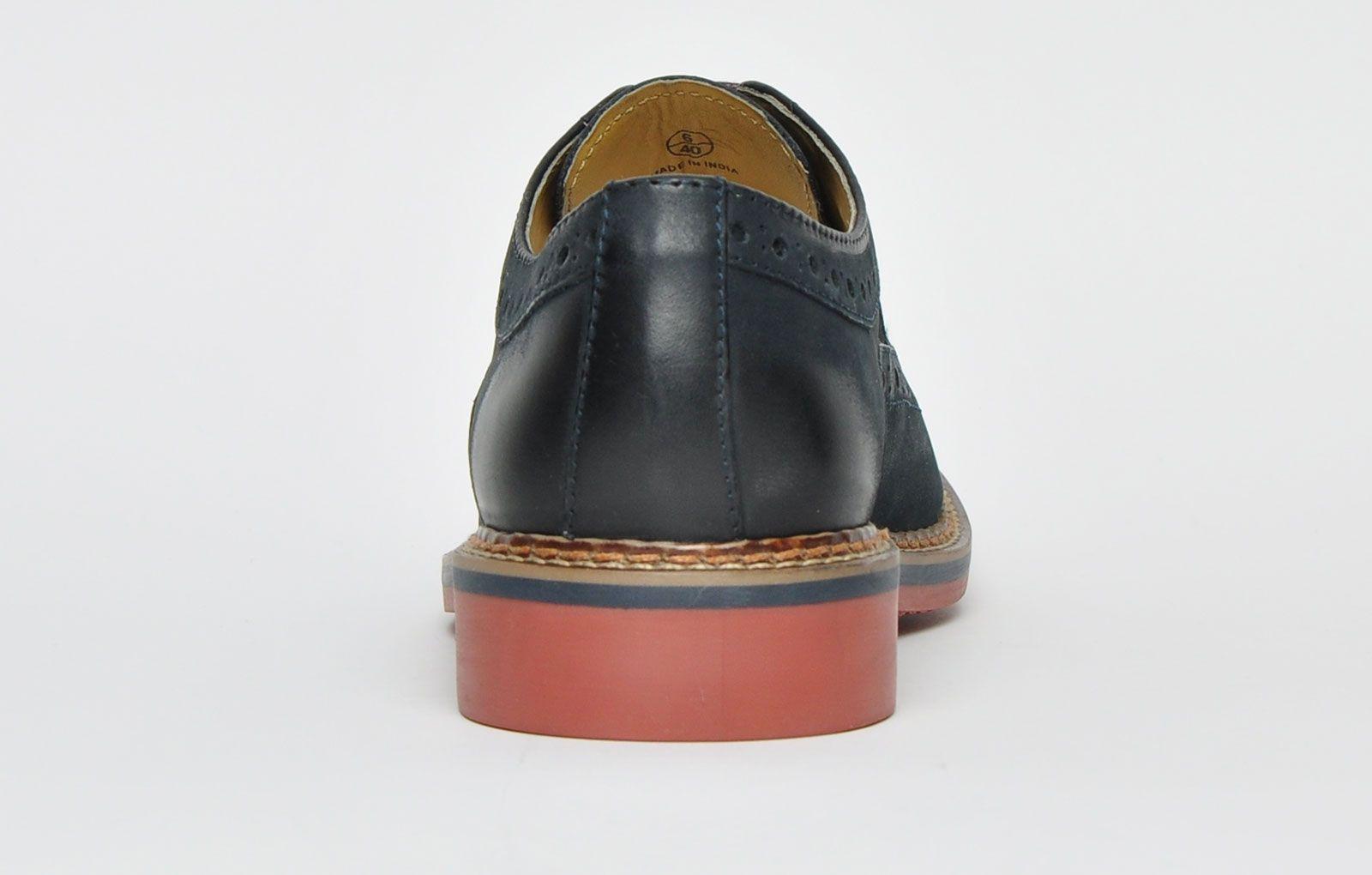 Ikon Classic Barley Leather Brogue Mens