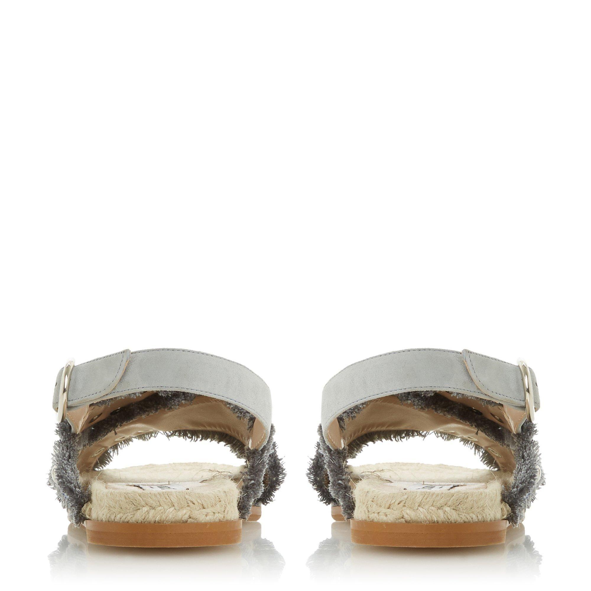 Dune Ladies LATEEN DB Studded Cross Strap Sandal