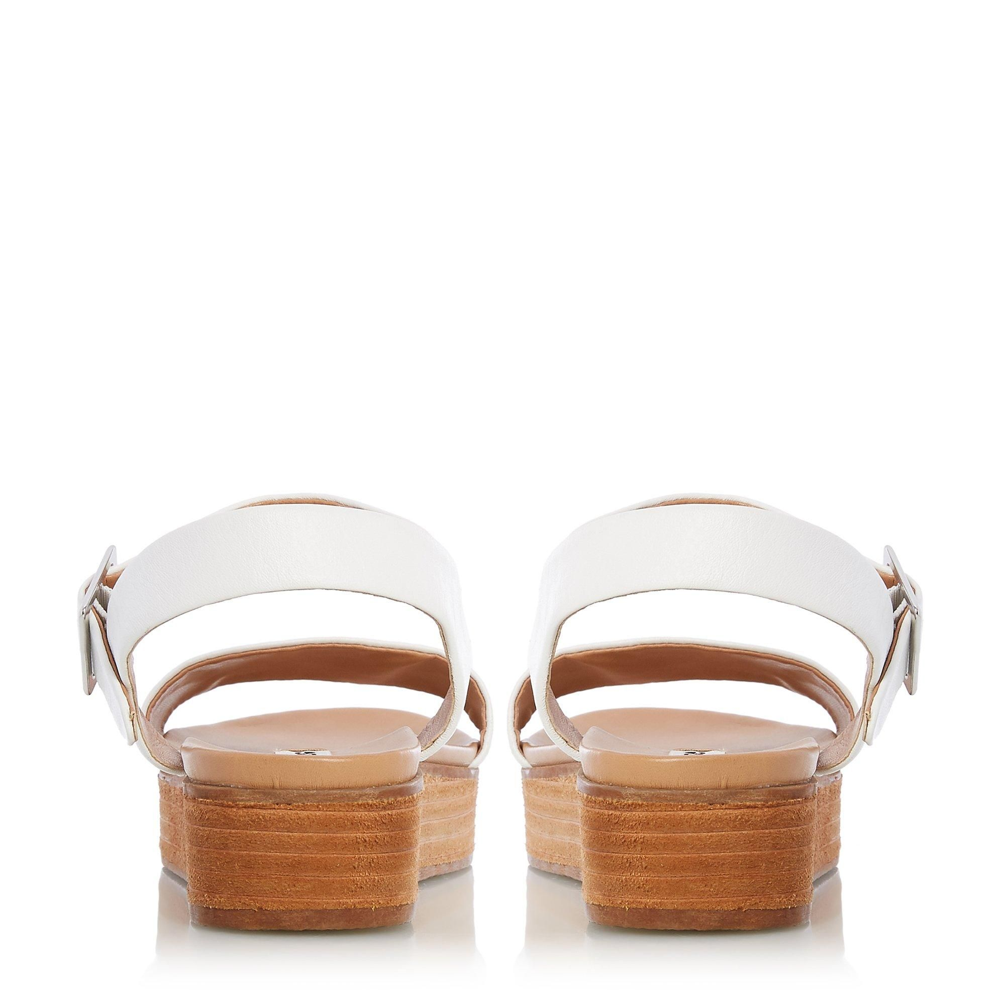 Dune Ladies LILYBETH Stacked Wedge Sole Sandals