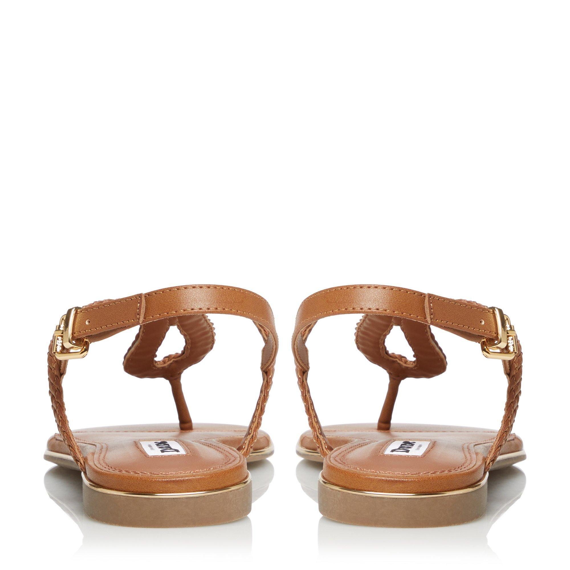 Dune Ladies LONGLEY Braided Loop Strap Sandal